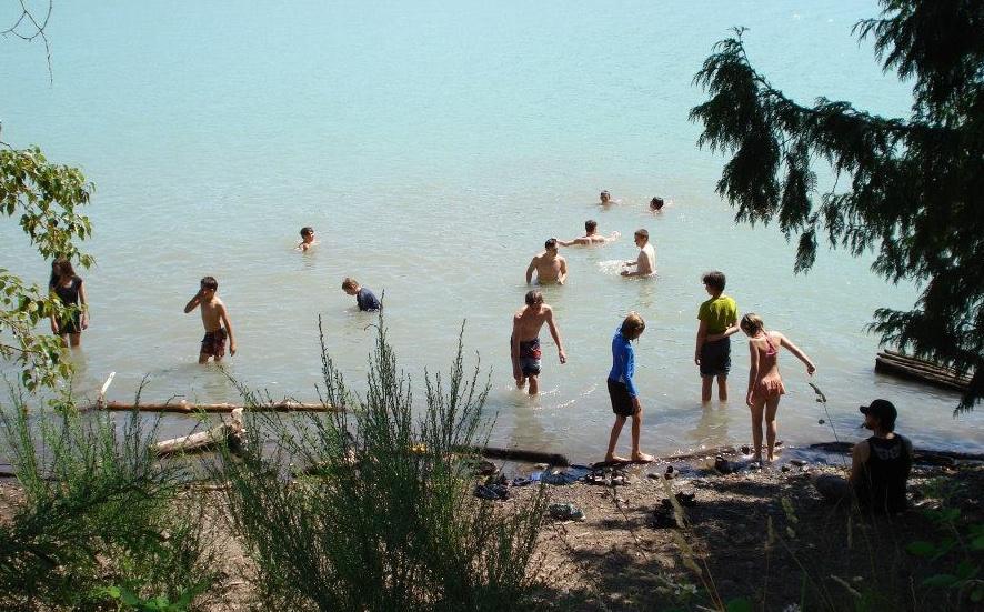 LakeSwimming