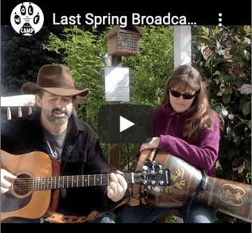 Day 40 & Last Spring Broadcast - Touching Deer, Coyote & The Meaning Of Life