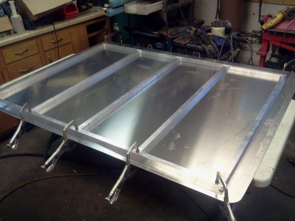 Aluminum Bed Cover