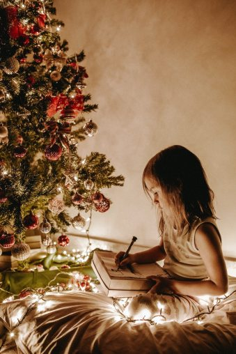 Create a holiday of hope this Christmas with reading and time spent at home with family.