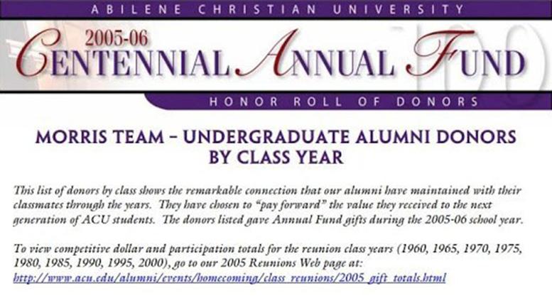 ACU - Abeline Christian University