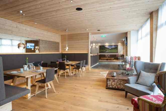 hotelfotografie salzburg, interior und innenarchitektur hotel central in der flachau