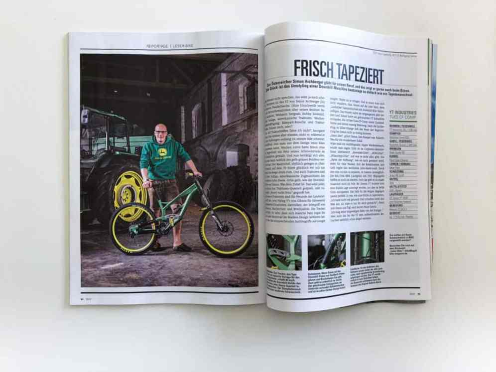 Editorial Fotografie für Bike Magazin