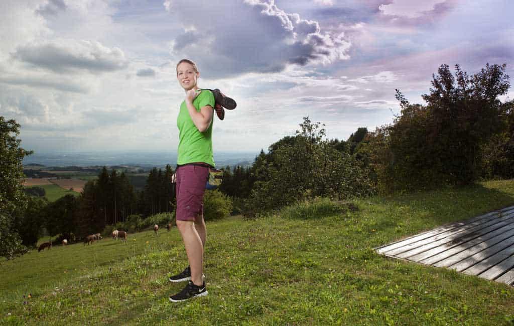 Corporate und Unternehmensfotografie fuer Physiotherapie, SportlerInnen Portrait Fotografie