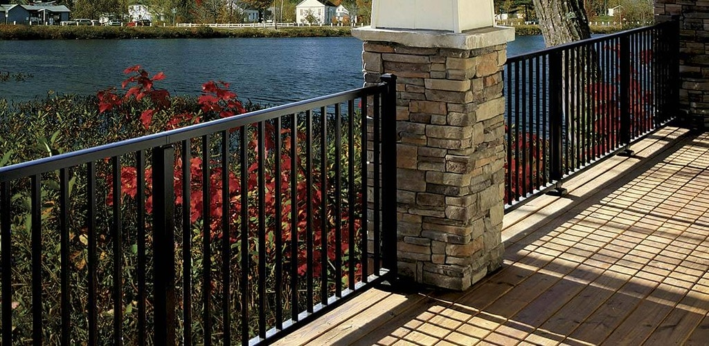 Wolf Deck Porch Railing Systems Wolf Home Products | Aluminum Railings For Front Steps | Budget Porch | Concrete | Construction | Wood | Modern