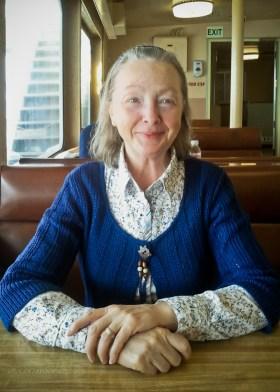 Marcia's New Sweater