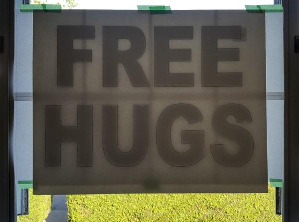 Free Hugs Template
