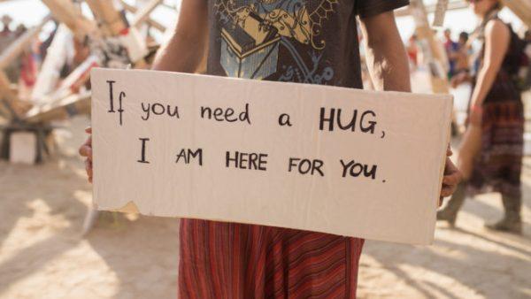 Hug Sign