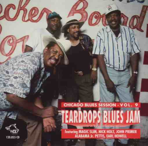120855 Teardrops Blues Jam Various Artists