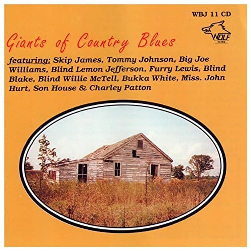 WBJ011 Giants of Country Blues Various Artists