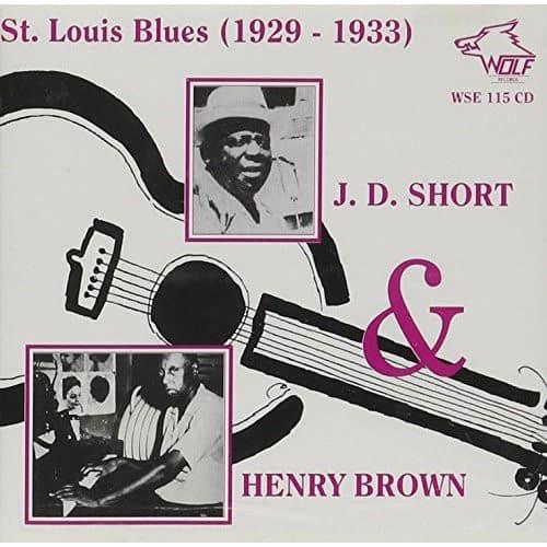 WSE115 J. D. Short   Henry Brown St. Louis Blues 1929 1933
