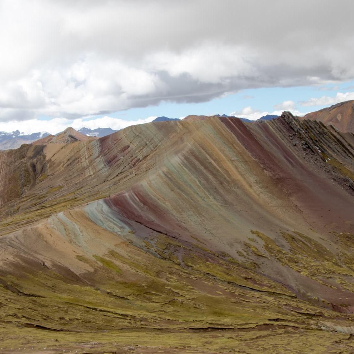 Montagne colorée Palcoyo au Pérou