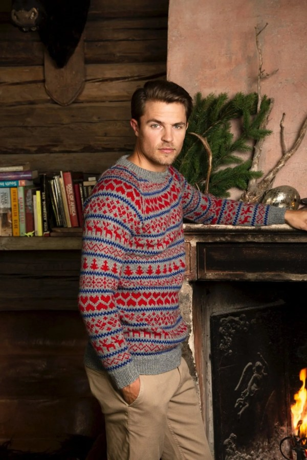 Rauma Knit Kit For Men's Christmas Sweater