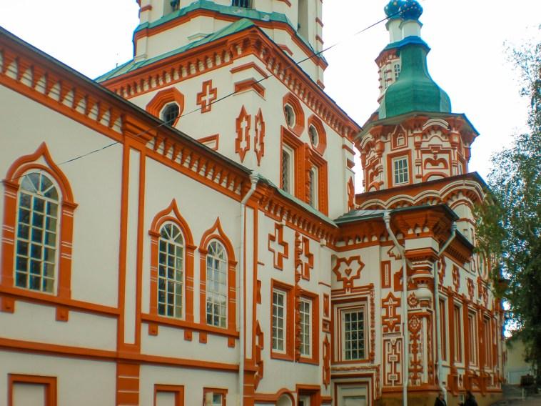 Irkutsk - russisch-orthodoxe Kirche