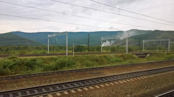 """Fahrt mit der Alten Bahn """"Krugobaikalskaja"""""""