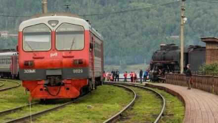 Endstation in Port Baikal