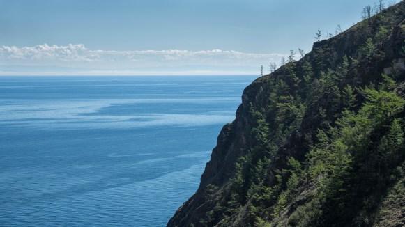 Im Norden Olchons - Blick über den großen Baikal
