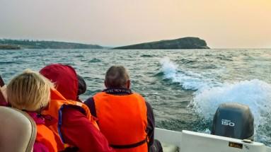 Bootsausflug auf dem Kleinen Meer