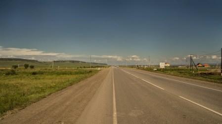 Auf der Rückfahrt nach Irkutsk