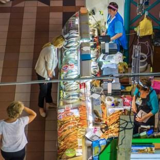 Irkutsk - in der Markthalle
