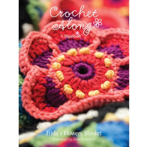 stylecraft cal Frida's Flowers Deken