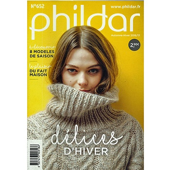 PHILDAR MINI CATALOGUS NR. 652