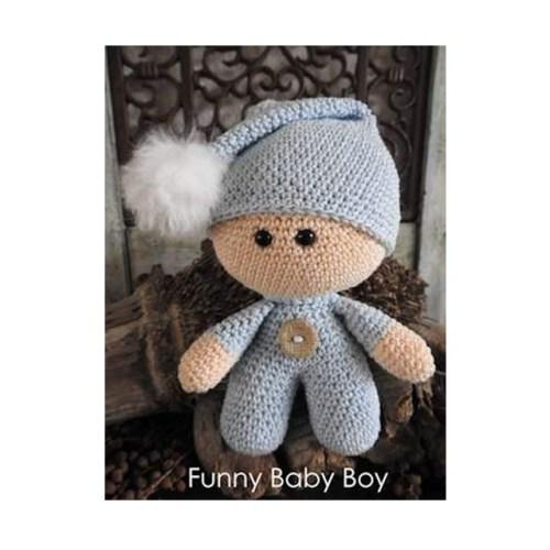 haakpakket funny baby boy