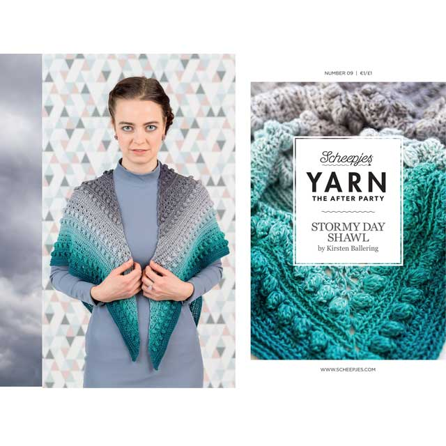 scheepjes yarn the afterparty nr 9 haakpatroon