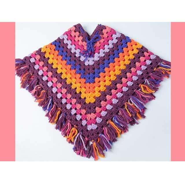 durable poncho haakpatroon