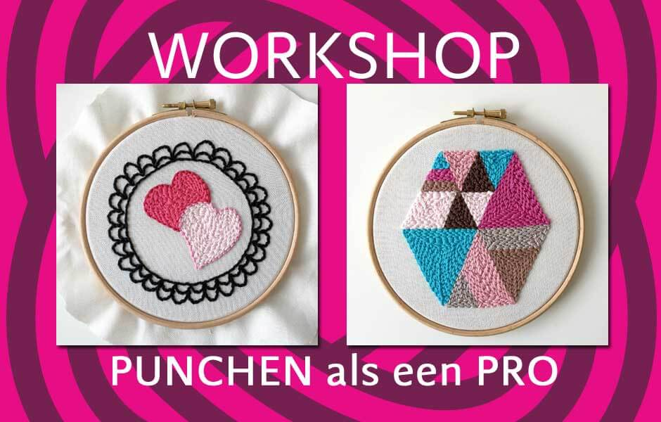 workshop punchen als een pro op zondag 11 oktober met marianne dekkers roos