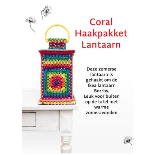 durable happy colours lantaarn haakpakket