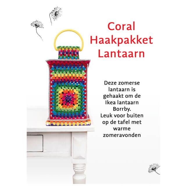 durable happy colours lantaarn haakpakket