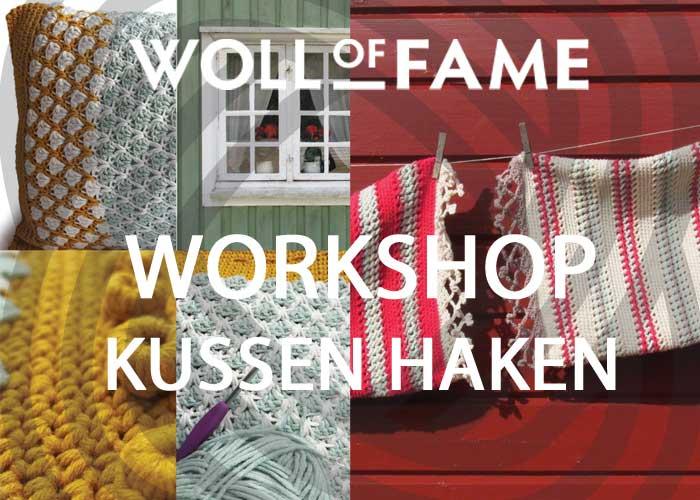 workshop kussen haken op 15 december