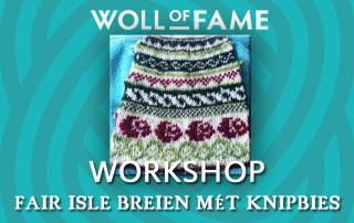 workshop fair isle breien mét knipbies op 25 januari