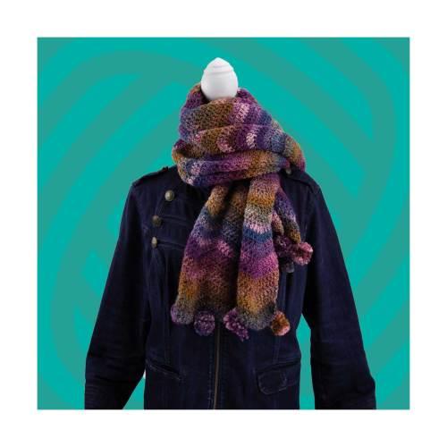haakpakket van de maand januari de chevron sjaal