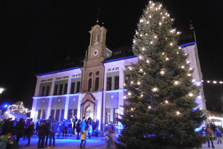 Illumination am Rathaus