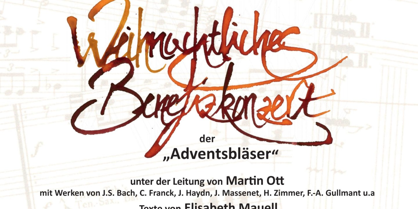 Benefizkonzert Adventsbläser Ott