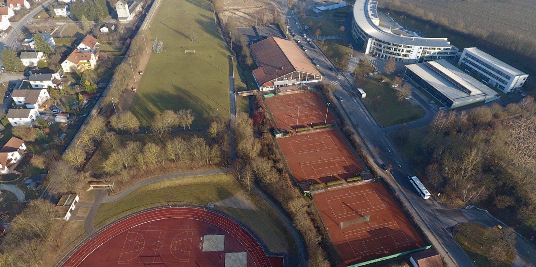 Sportgelände TSV Wolnzach und HGW