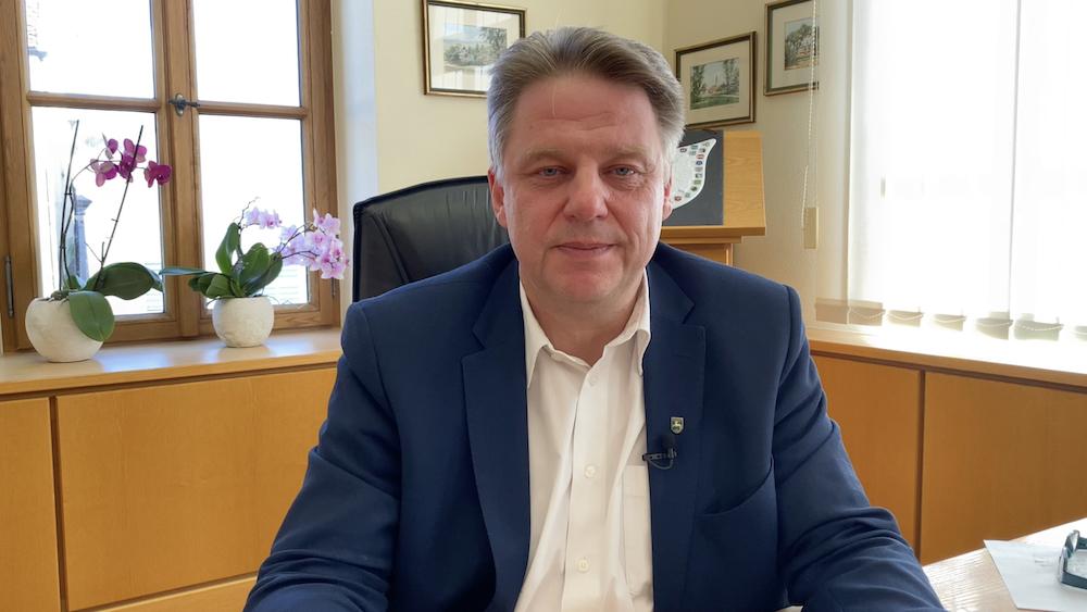 1. Bürgermeister Jens Machold Büro