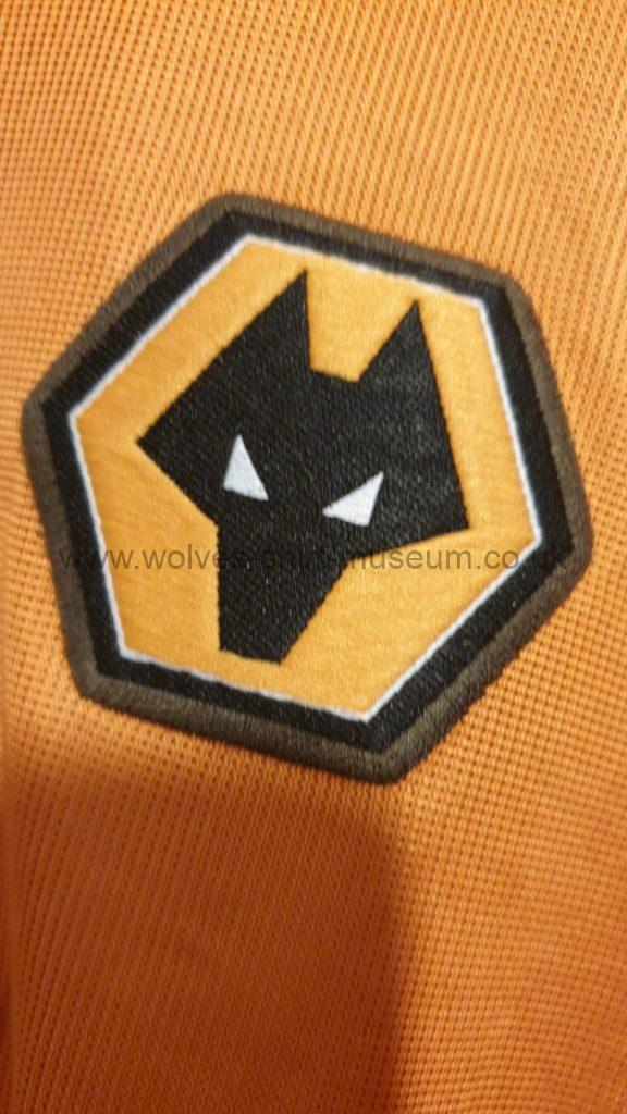 2002-2004 home shirt by Admiral - badge