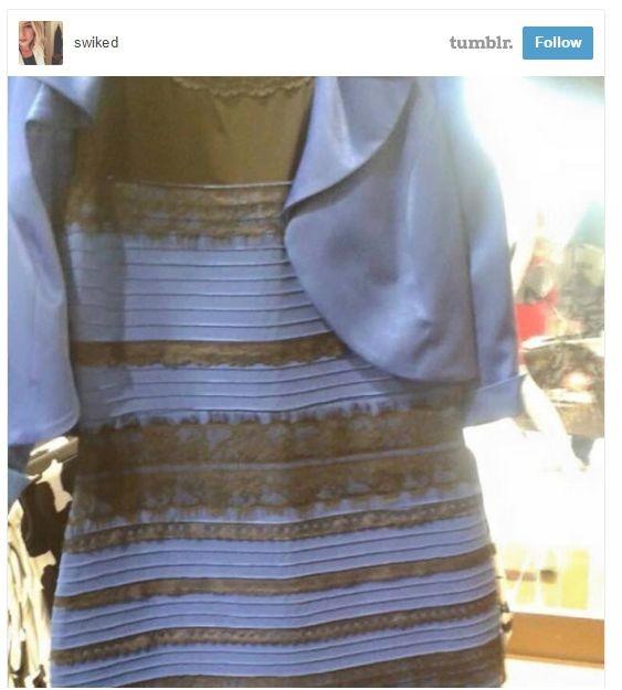То самое платье стало белым с золотым