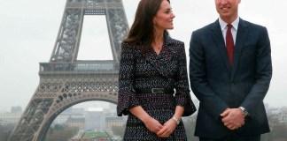 Принц Уильям и Кейт Миддлтон посетили Париж