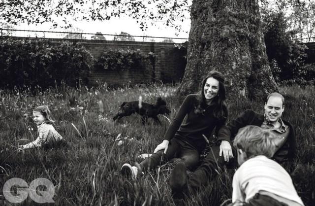 Принц Уильям и Кейт Миддлтон сфотографировались для журнала GQ
