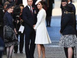 Принц Уильям и Кейт Миддлтон посетили церемонию, посвящённую битве при Пашендейле
