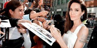 Анджелина Джоли с детьми приехала на кинофестиваль в Торонто