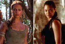 Анджелина Джоли сходила с детьми на новую Лару Крофт