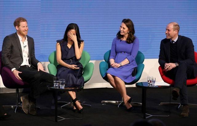 Меган Маркл впервые присоединилась к принцу Уильяму и Кейт Миддлтон на официальном мероприятии