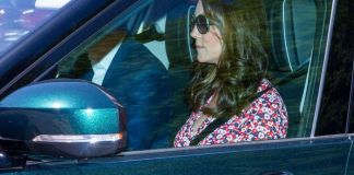 Кейт Миддлтон приехала на репетицию свадьбы принца Гарри и Меган Маркл