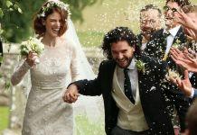 Кит Харингтон и Роуз Лесли поженились