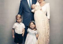 Принц Уильям и Кейт Миддлтон отметили день рождения принца Джорджа новым портретом